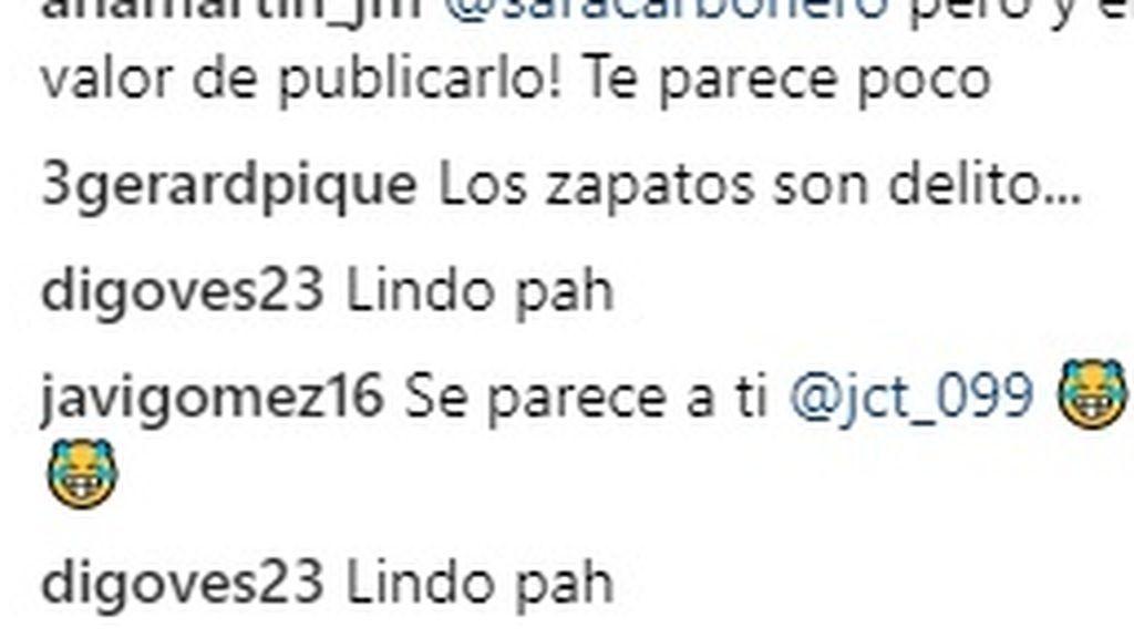 Sara Carbonero y Piqué trolean a Casillas por una foto que ha subido de hace 20 años