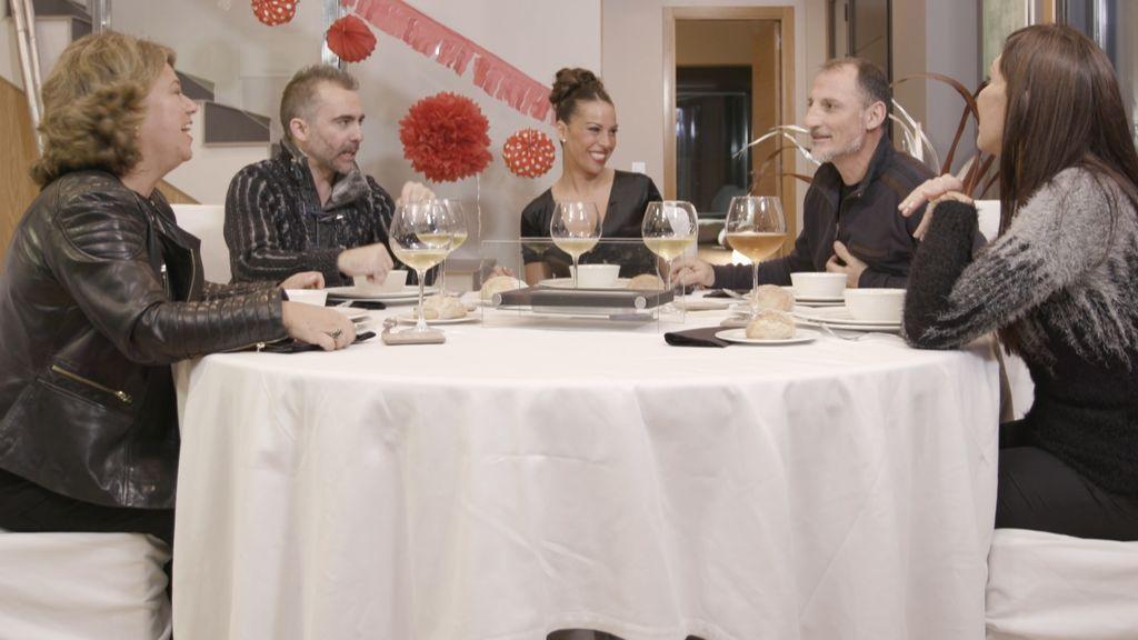 La 'fuerza' acompaña a los comensales de 'Ven a cenar conmigo'