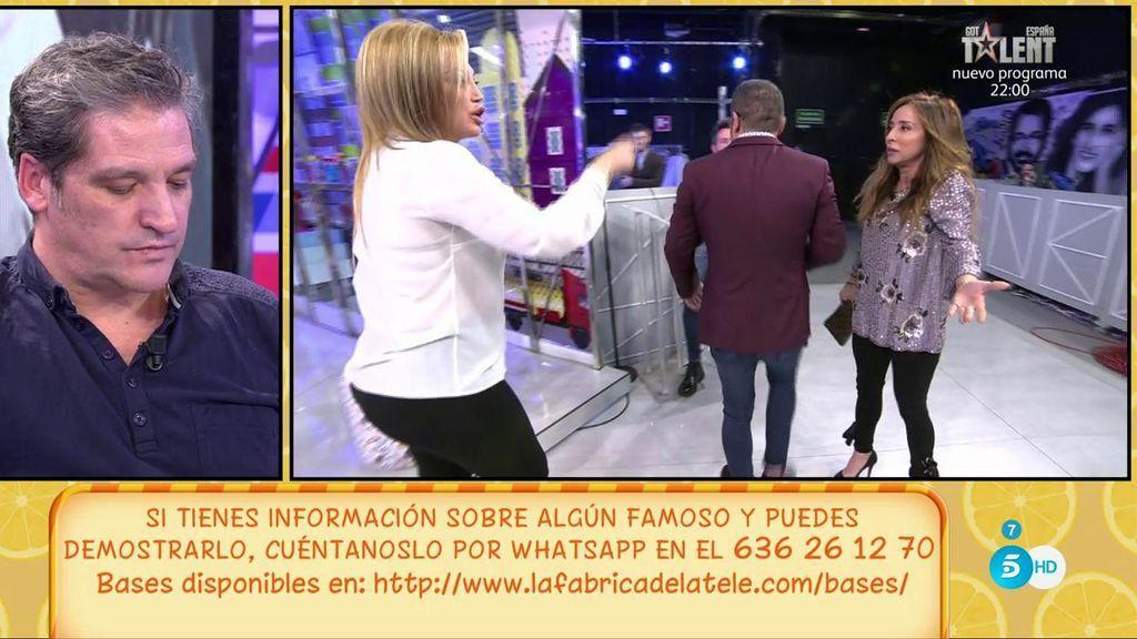 """Belén Esteban y María Patiño se mosquean con Jorge Javier porque les llama """"primarias emocionalmente"""""""