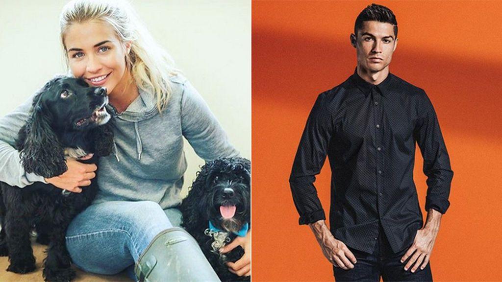 Gemma Atkinson, la primera y misteriosa novia de Cristiano Ronaldo, sale ahora con una amigo suyo