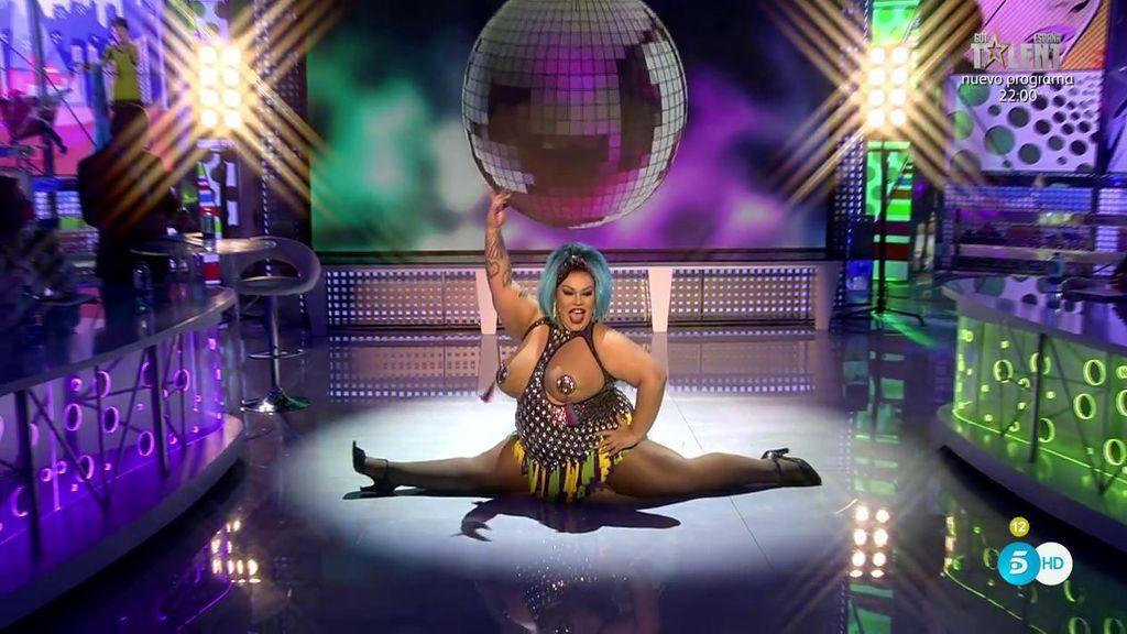 ¡Wendi Superstar revoluciona el plató de 'Sálvame' con su actuación!
