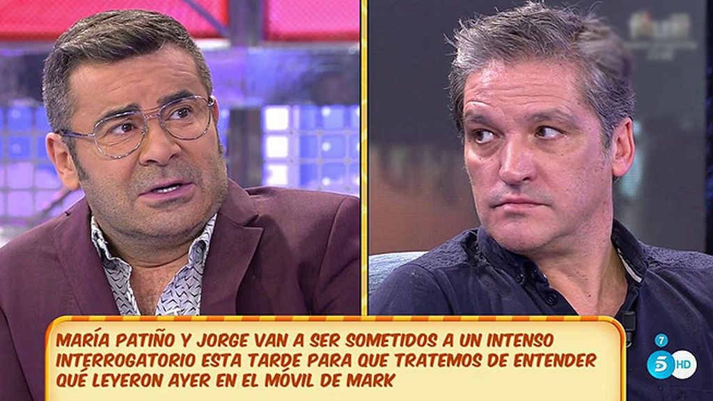 """J.J. Vázquez: """"María Lapiedra es una enferma de la tele, pero quiere a Gustavo de la manera en que ella quiere"""""""