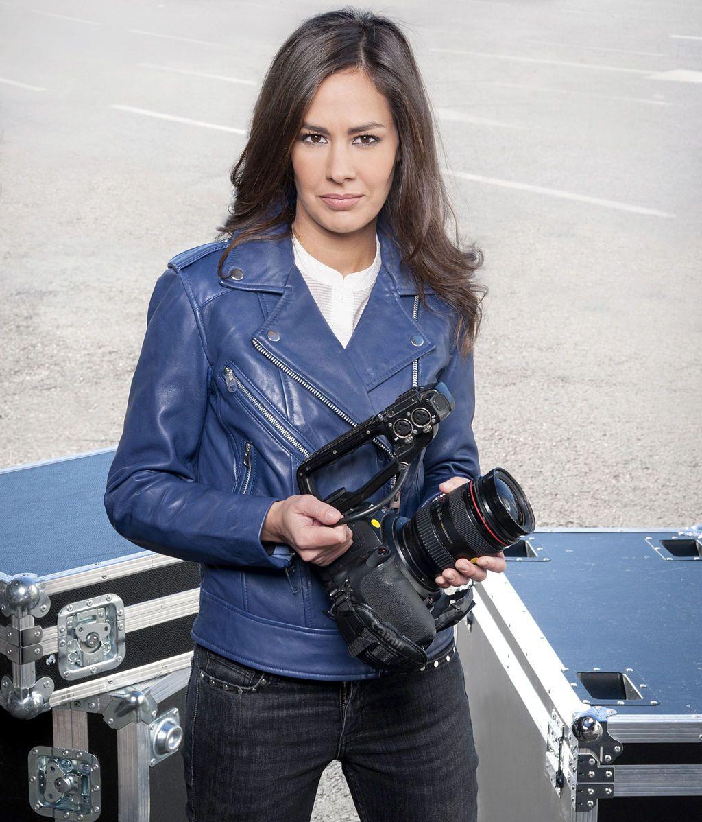 María Miñana, reportera de 'En el punto de mira'.