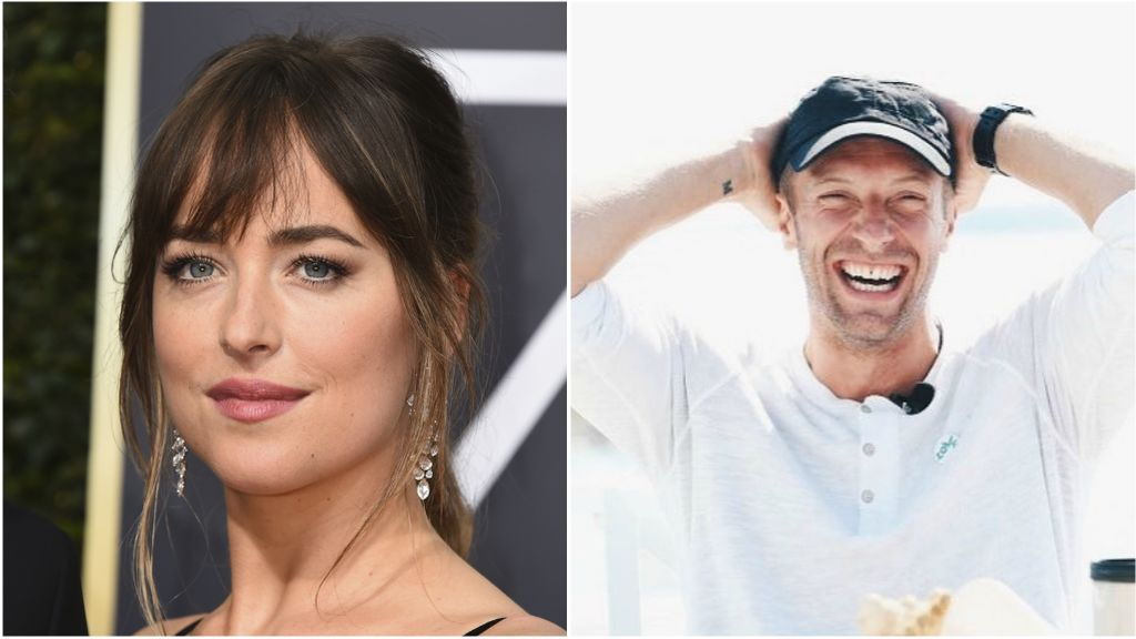 Abrazados, de la mano y felices: Las fotos que confirman el noviazgo de Chris Martin y Dakota Johnson