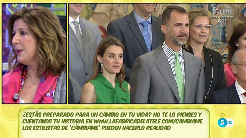 Los Reyes Felipe y Letizia tuvieron una fuerte crisis matrimonial en verano de 2013, según Ana Romero