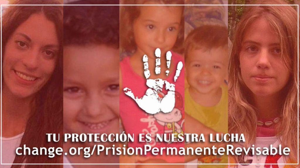 Las familias de Diana Quer, Mari Luz y Marta del Castillo, contra la derogación de la prisión permanente