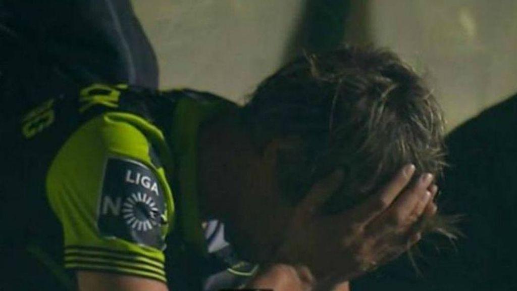 Coentrao se derrumba en Portugal: puñetazos y lágrimas en el banquillo