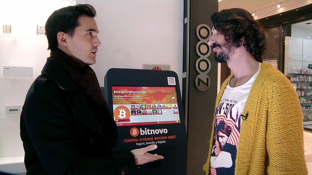 Las Bitcoin a examen: La criptomoneda, cada vez más extendida en un exclusivo barrio madrileño