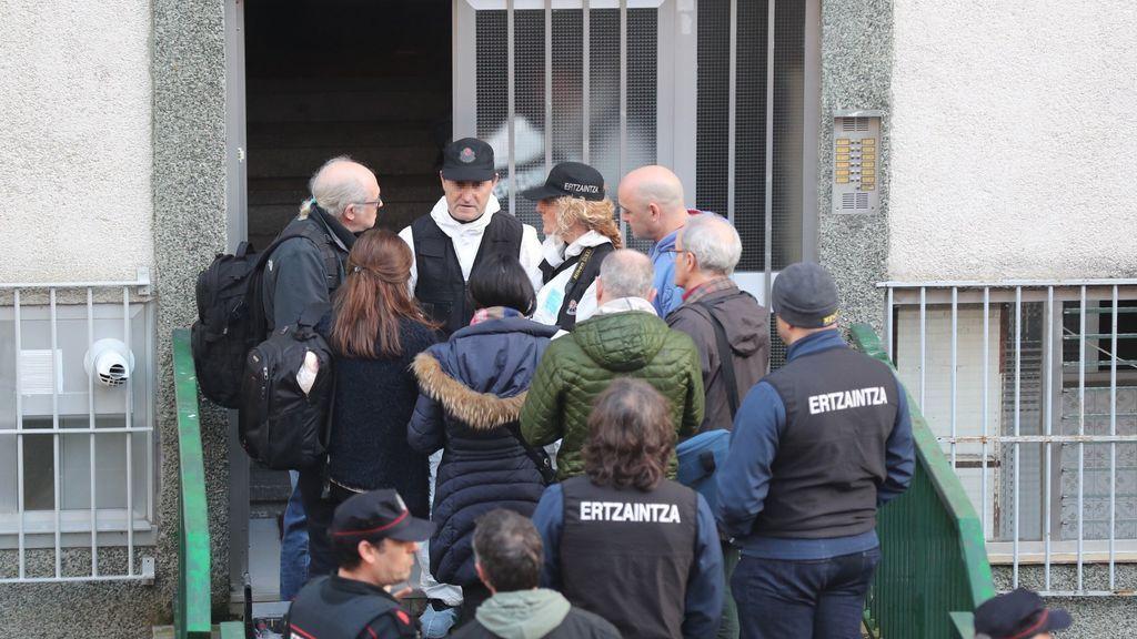 Detenido un menor como presunto implicado en el crimen de los ancianos de Otxarkoaga