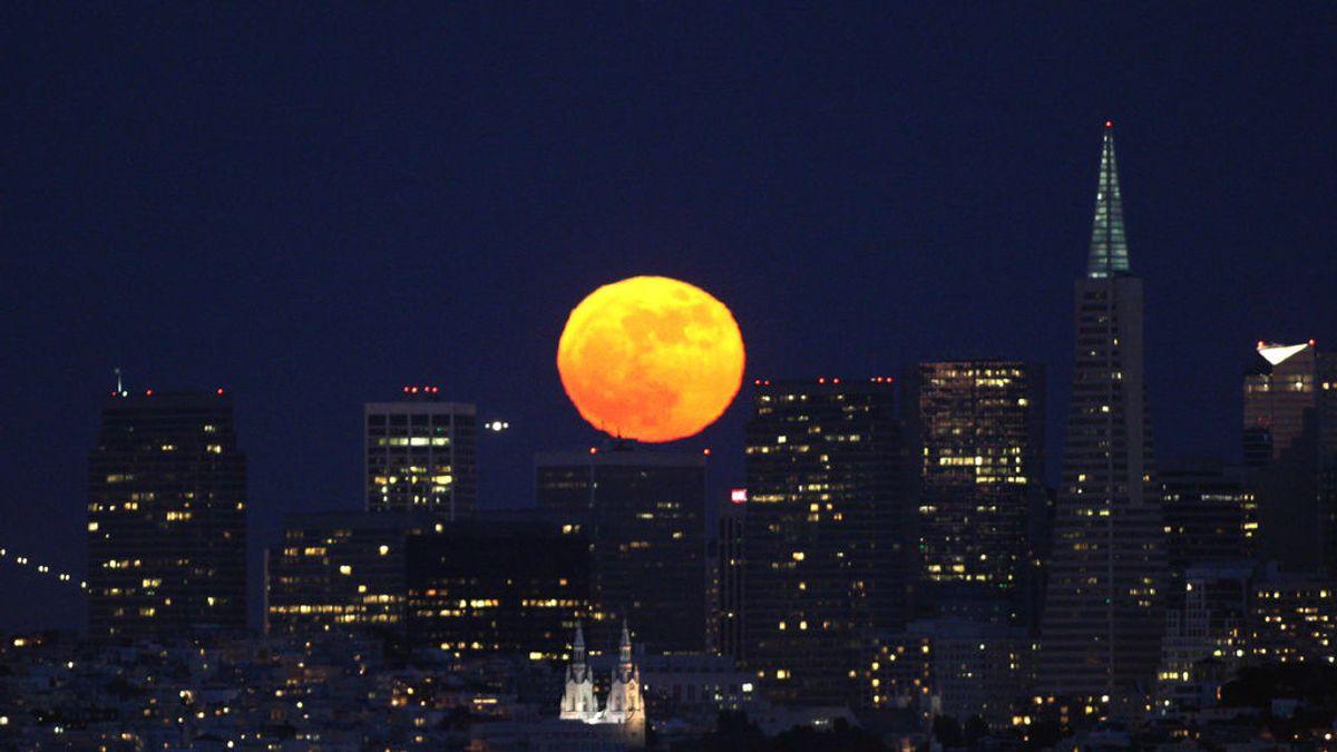 ¿Dónde se verá la superluna azul de sangre el 31 de enero?