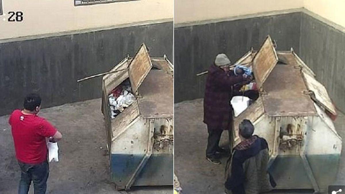 Abandona a su hija en un contenedor dos horas después de nacer en China