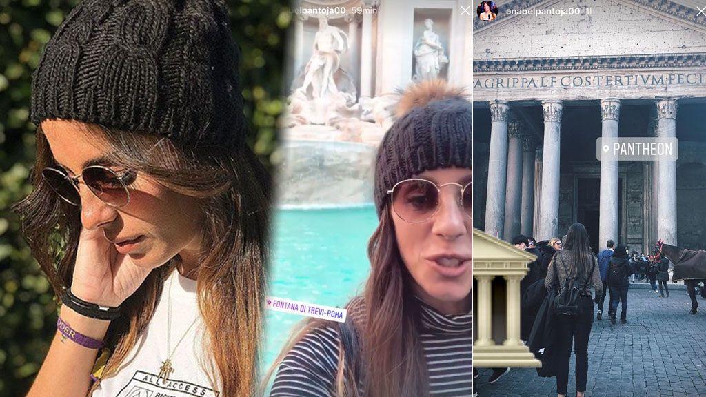 El viaje a Roma de Anabel Pantoja que podría confirmar su ruptura con Fleki