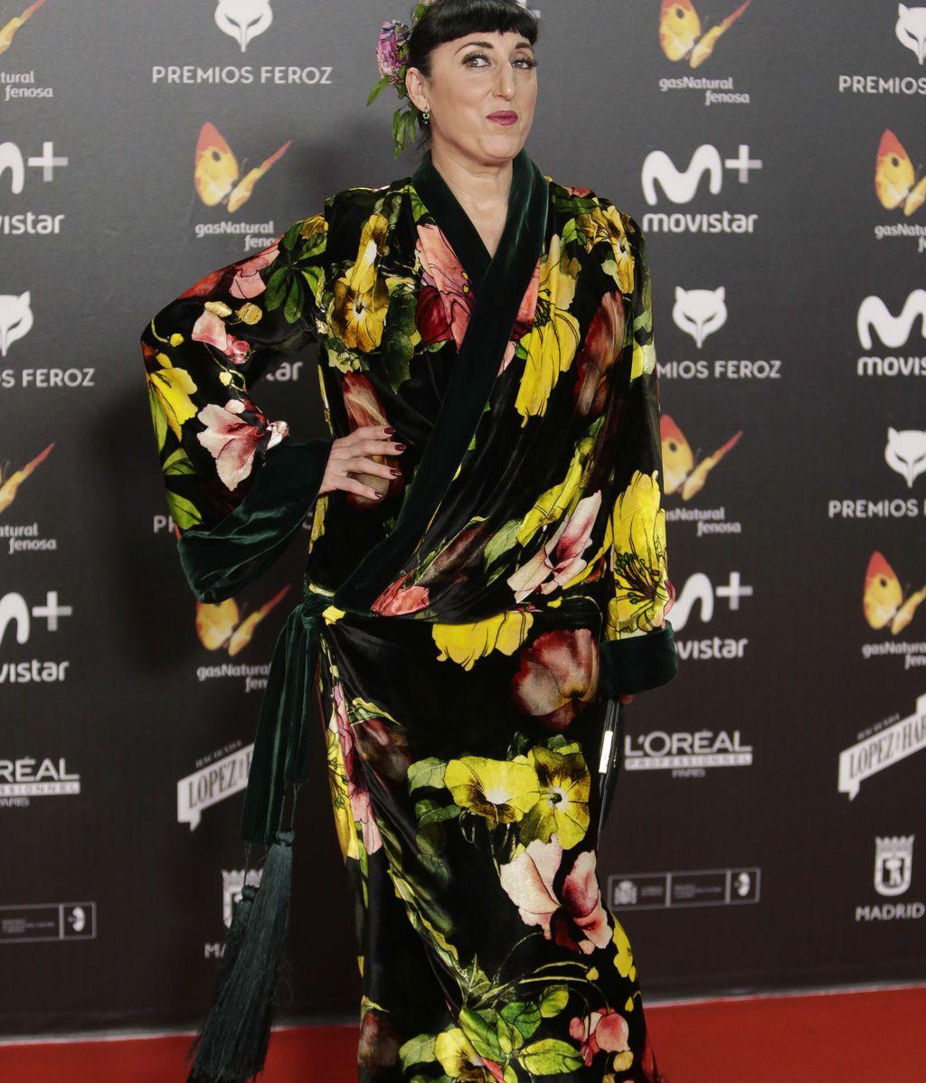 Rossy de Palma, enfundada en un original quimono floral