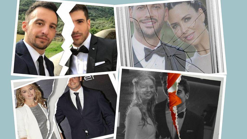 La maldición de los dos años: Amenábar y otros matrimonios VIP que han hecho aguas en 24 meses