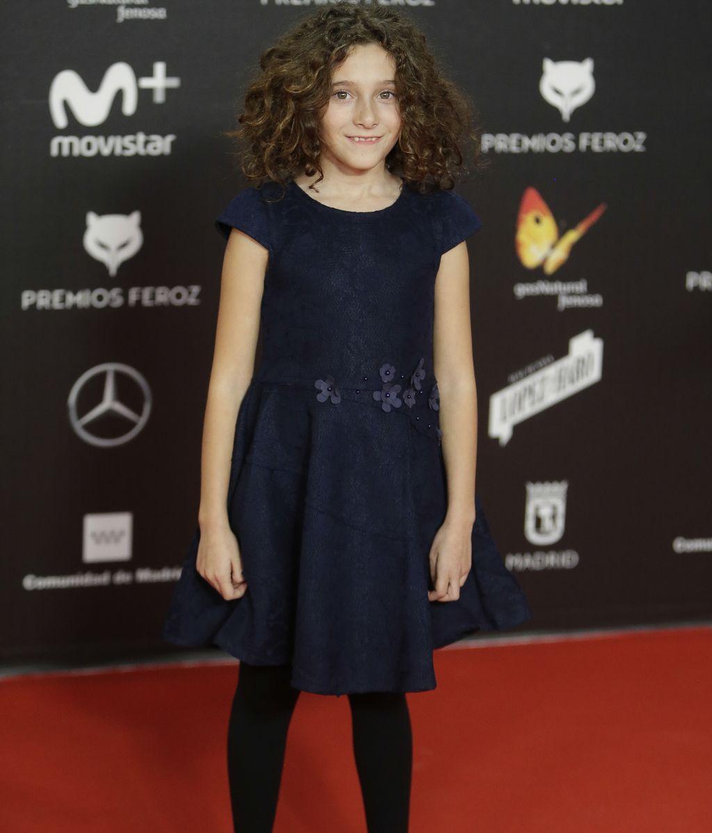 Laia Artigas, una de las protagonistas de la noche por su papel revelación en 'Verano 1993'