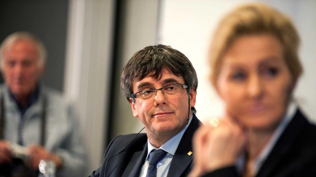 La jornada de Puigdemont en Copenhague, con preguntas incómodas incluidas