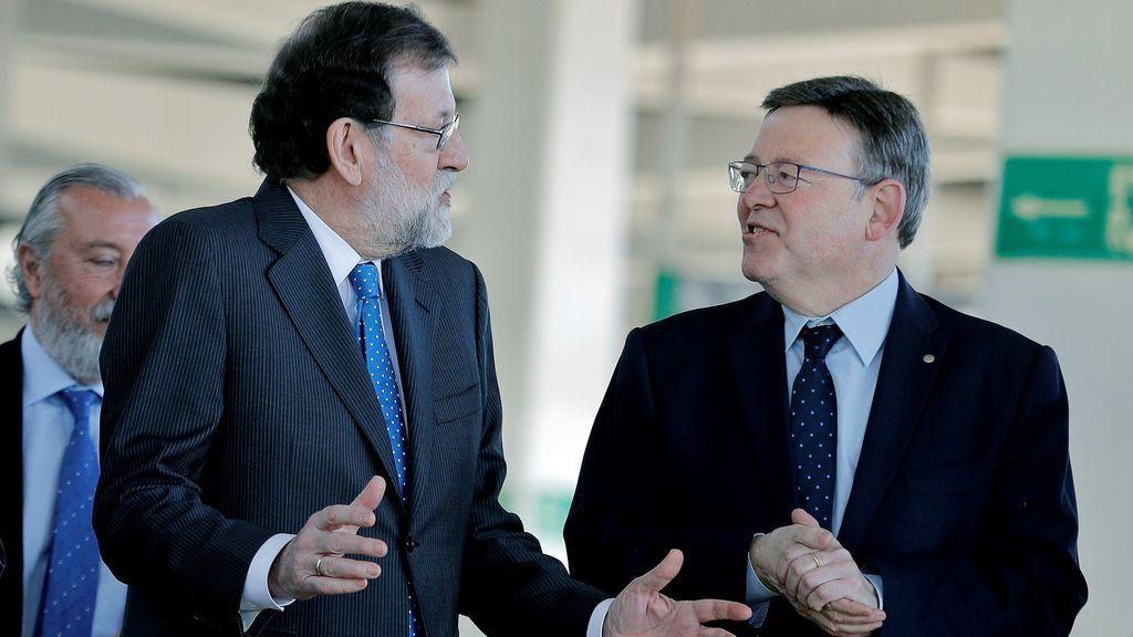 Rajoy inaugura el AVE a Castellón, que sufre una incidencia