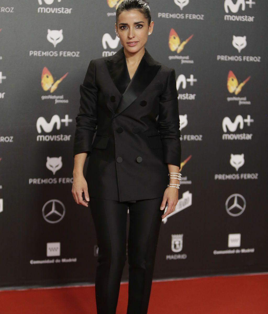 Inma Cuesta, protagonista de 'El accidente', con chaqueta cruzada