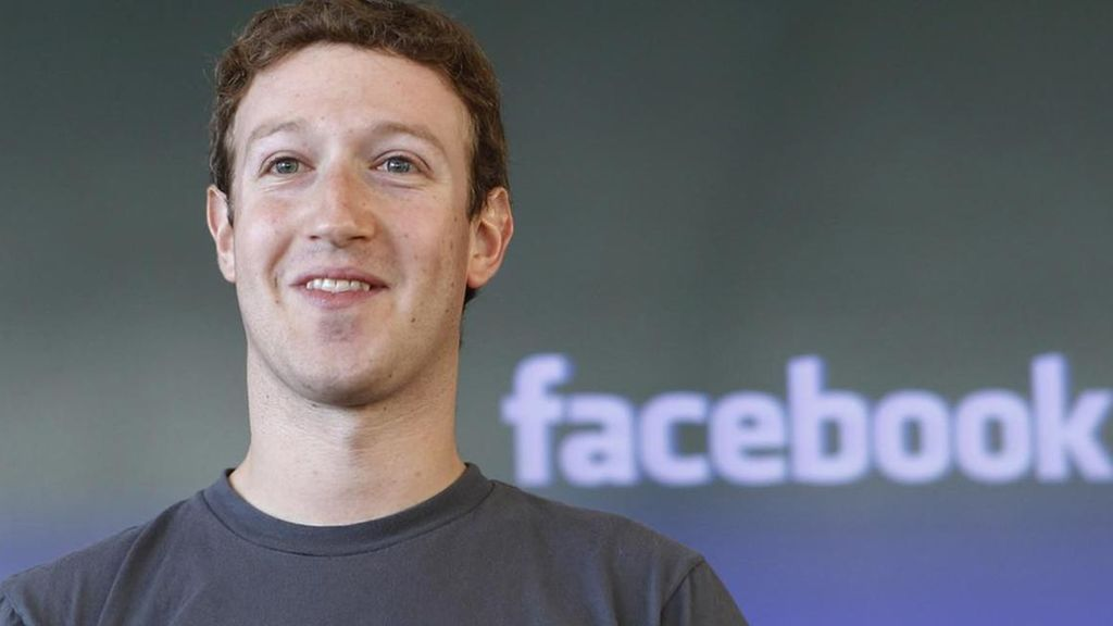 El CEO de Facebook, Mark Zuckerberg.