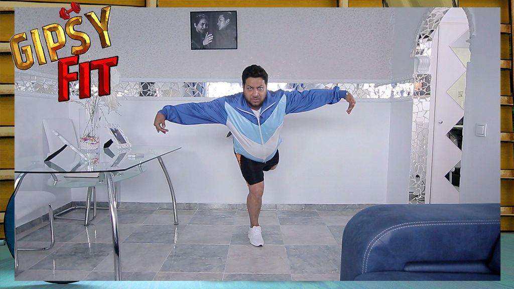 Mariano Heredia inventa el 'hor yoga', ¡la versión gipsy del yoga más calentito!