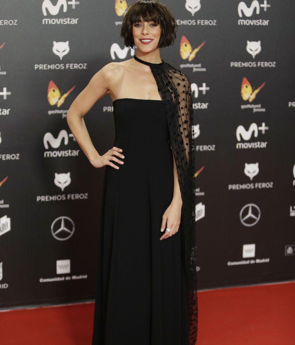 Belén Cuesta, nominada por su trabajo en 'La llamada', con capa en tul de Dolores Promesas
