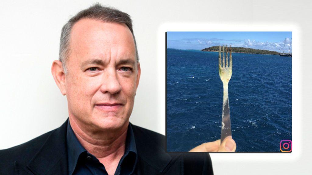 ¡'Salvando al objeto perdido'! La insólita cuenta de Instagram de Tom Hanks