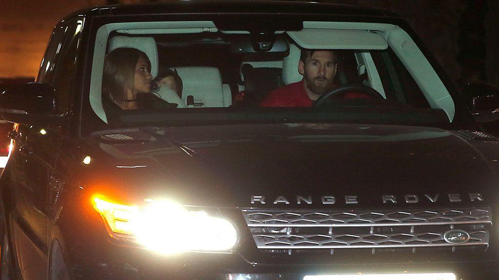 Leo Messi y Antonella Roccuzzo fueron a la fiesta con Thiago y Mateo