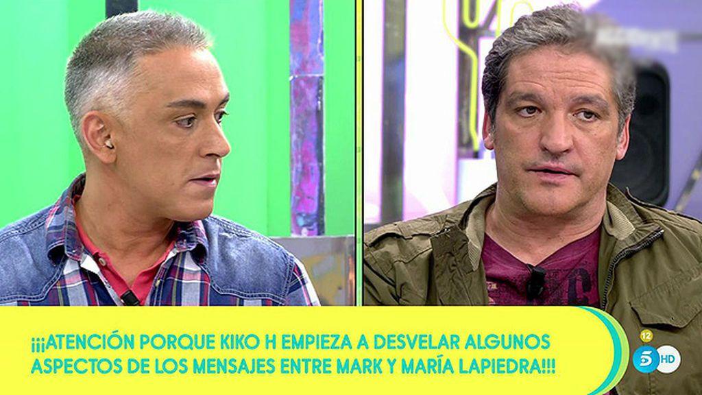 Hernández desvela parte del contenido de las conversaciones de María Lapiedra y Mark Hamilton