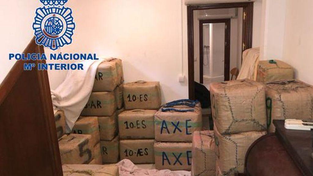 Varios detenidos y 300 kg de hachís incautados en Huelva