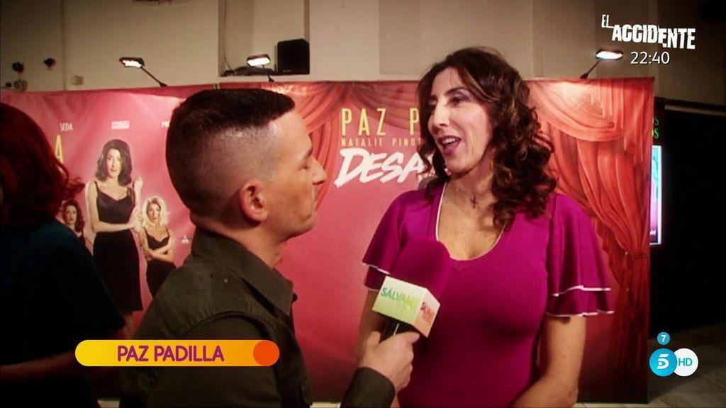 Los colaboradores de 'Sálvame' apoyan a Paz Padilla en el estreno de 'Desatadas'