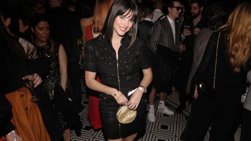 Cristina Abad, muy sexy en negro y dorado