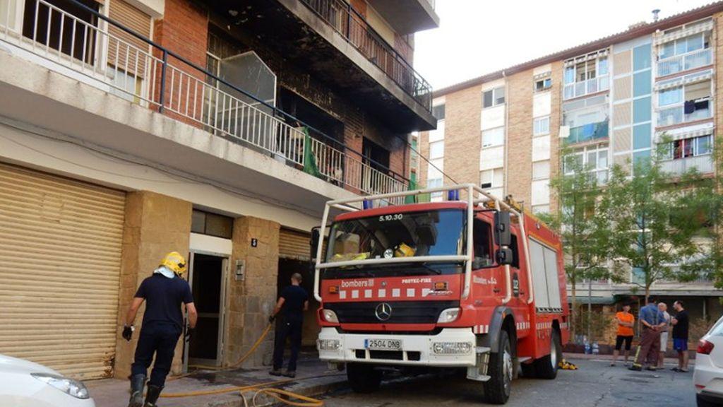 Incendio en Martorell:  Muere una mujer de 78 años y su marido está grave
