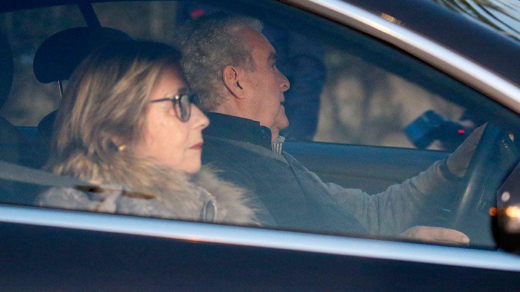 Los bisabuelos paternos de Milán acudieron en coche