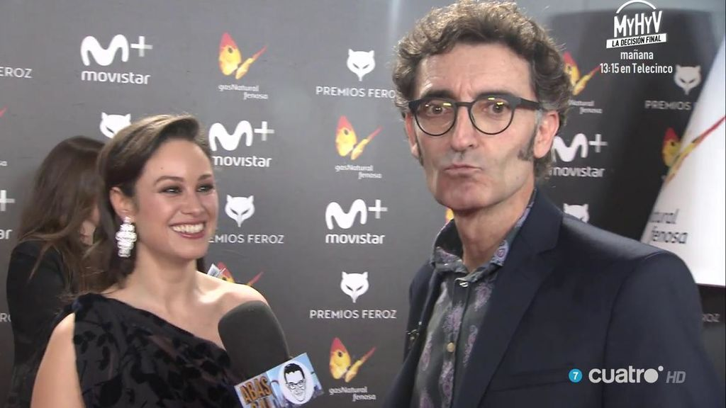 Maribel Verdú, Alejo Sauras, Javier Cámara, Aida Folch... víctimas de Abascal en los Premios Feroz