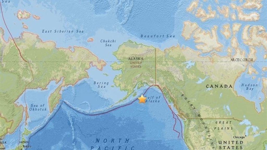 Alerta de tsunami por un terremoto de 8,2 en Alaska