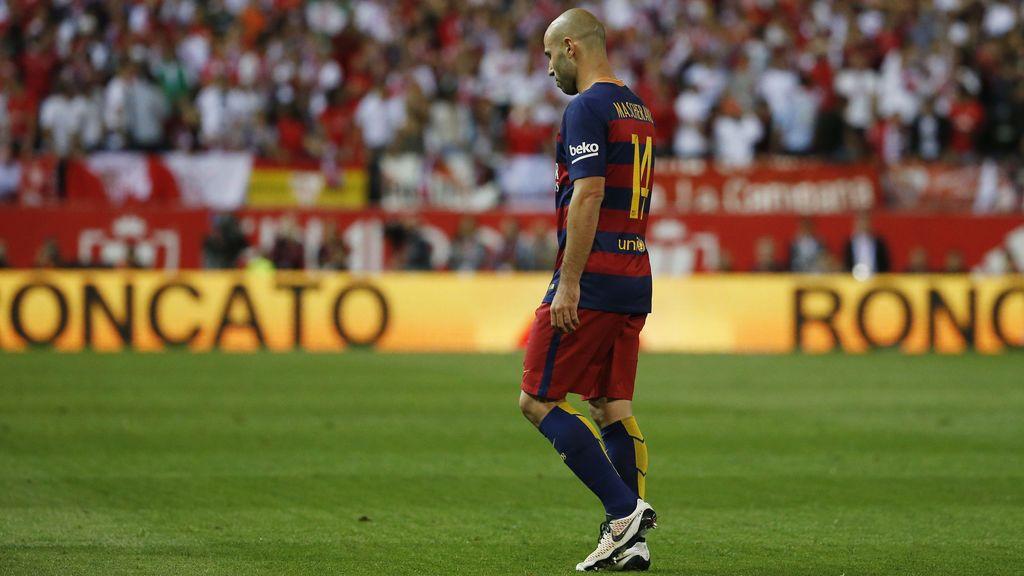 El Barça hace oficial la salida de Mascherano