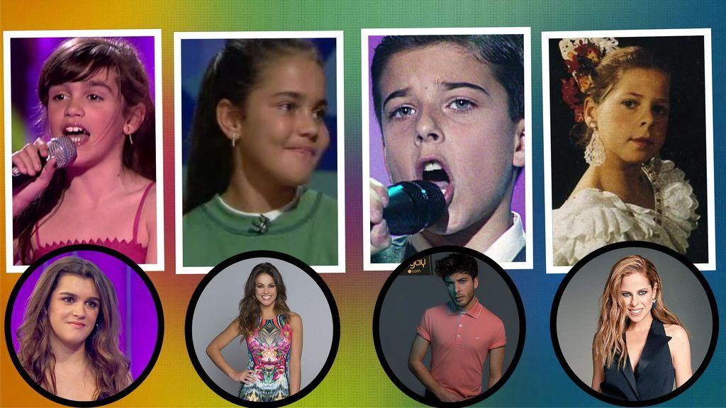 Menudas Estrellas VIP: Famosos que acudieron a talents infantiles cuando eran peques