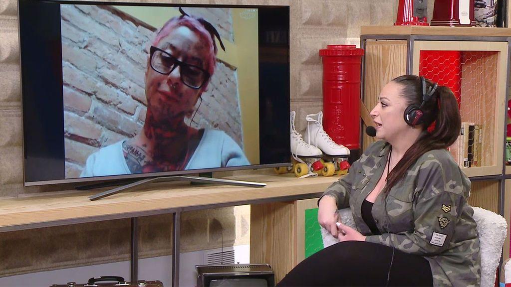 """La mujer más tatuada de Europa: """"La gente me ve como un trozo de carne con tinta"""""""