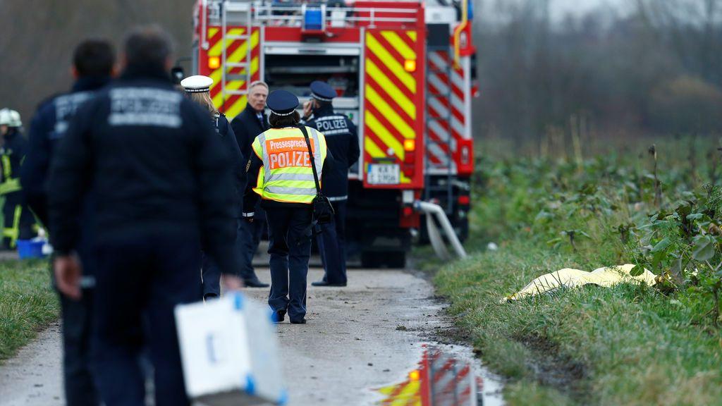 Cuatro muertos por un choque entre una avioneta y un helicóptero en el oeste de Alemania