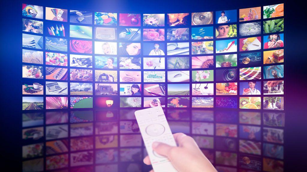 Imagen recurso de pantallas de televisión.