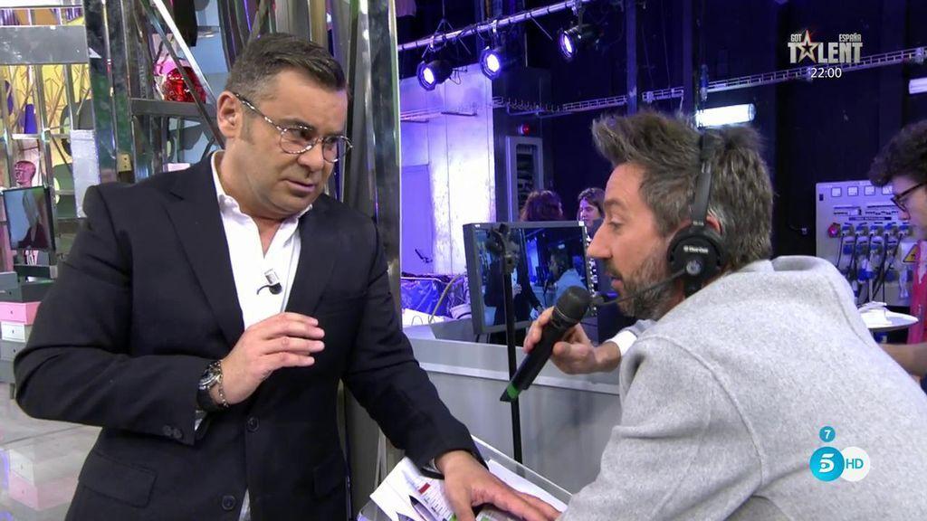"""J.J. Vázquez: """"Got Talent' va a emitir el momento en el que le dije a Risto: hasta aquí"""""""