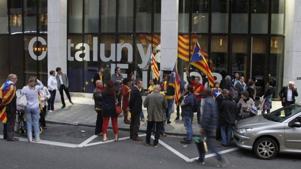 """El Gobierno cierra """"hasta nueva orden"""" la oficina de la Generalitat en Bruselas"""