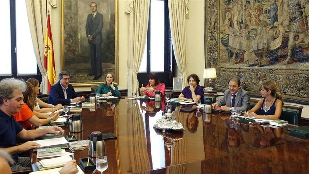 La Mesa del Congreso de los Diputados.