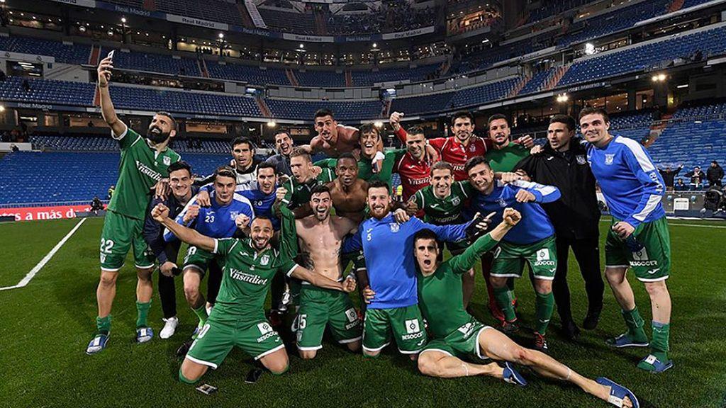 El Leganés gana al Real Madrid por primera vez en su historia