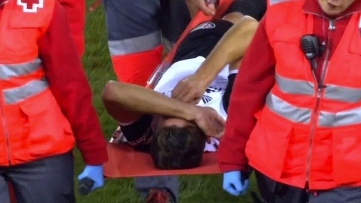 El llanto desconsolado de Gabriel Paulista al lesionarse de gravedad en la rodilla
