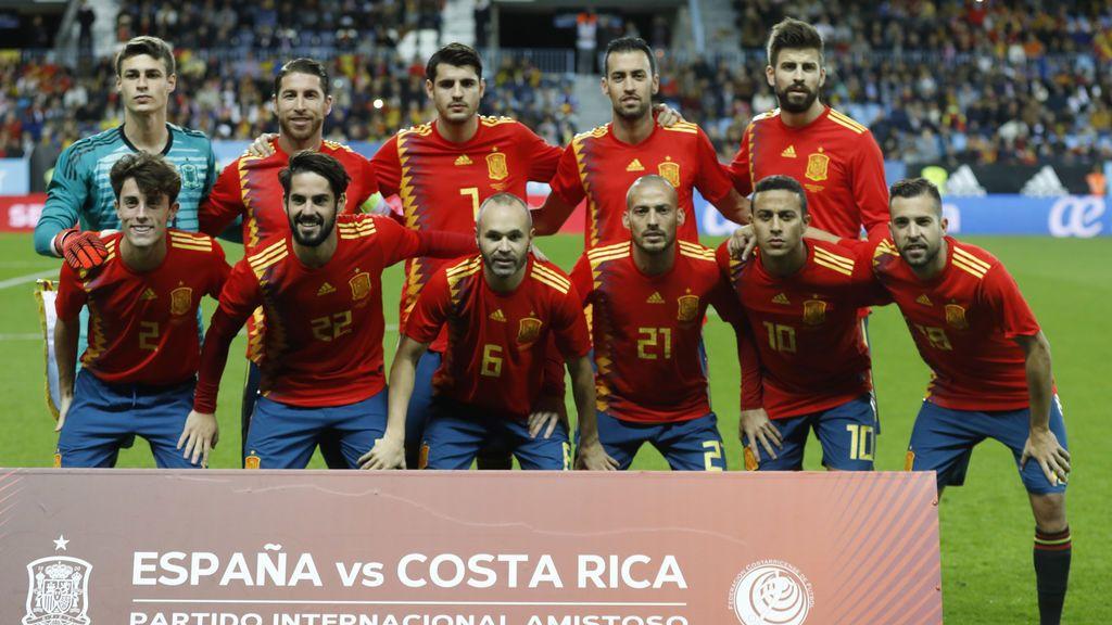 España queda encuadrada con Inglaterra y Croacia en la Liga de las Naciones