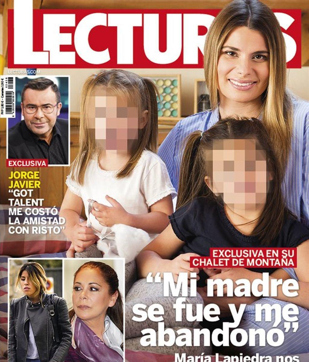 María Lapiedra revela su gran drama de la infancia junto a sus hijas