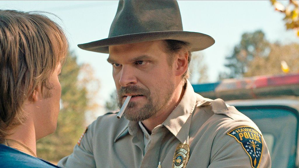David Harbour interpreta a Jim Hopper en 'Stranger things'.