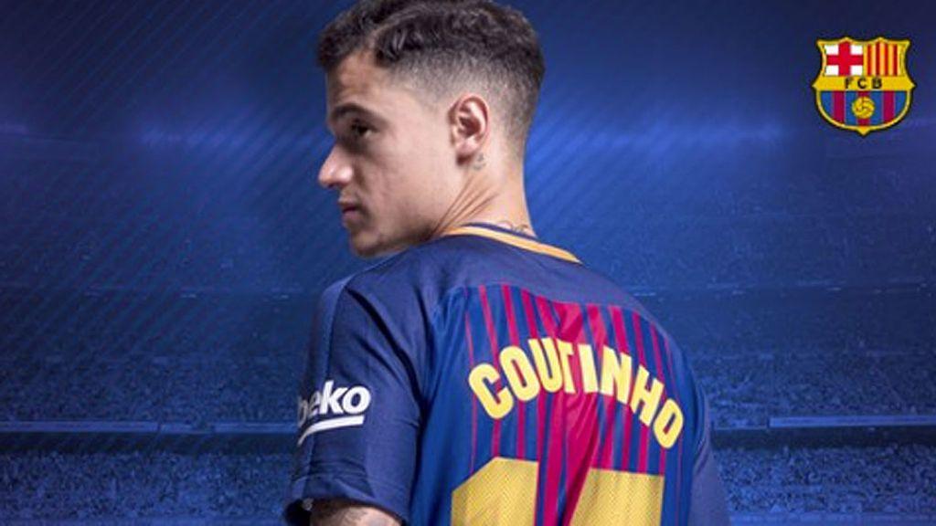 Philippe Coutinho hereda el dorsal '14' de Javier Mascherano
