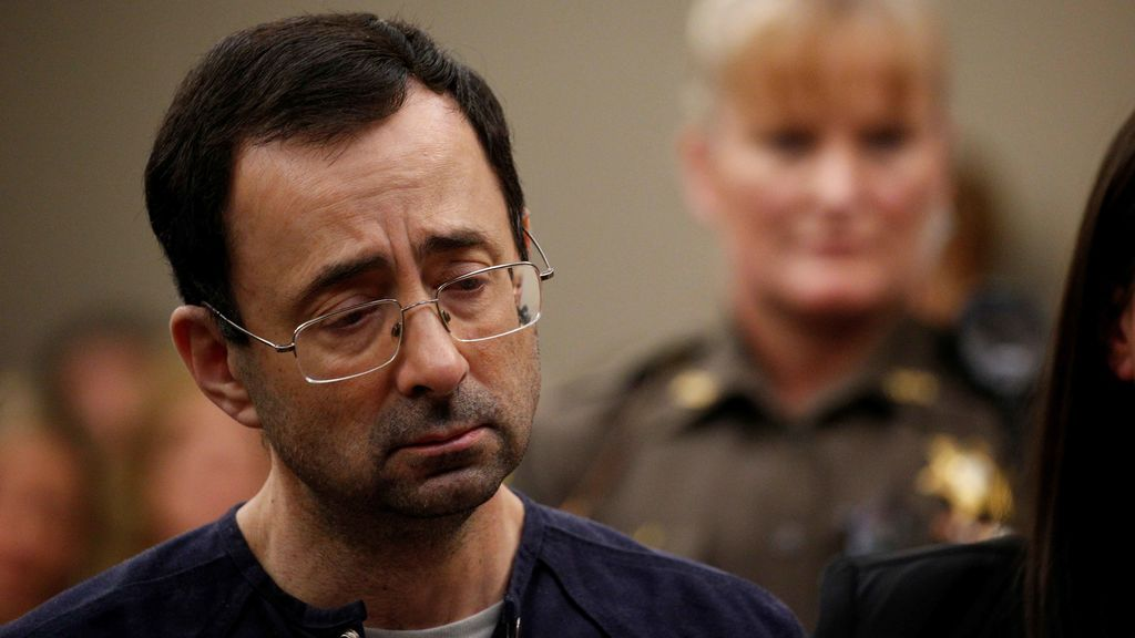 Hasta 175 años de cárcel para Larry Nassar por abusar sexualmente de más de 150 chicas